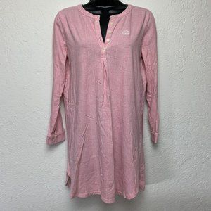 Ralph Lauren Nightgown NightShirt XS 100% Cotton